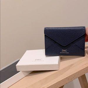 NEW IWC Wallet in Navy Blue